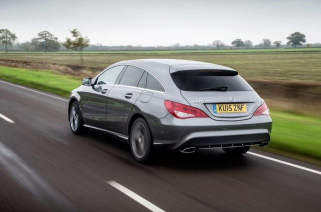 mercedes cla shooting brake bag