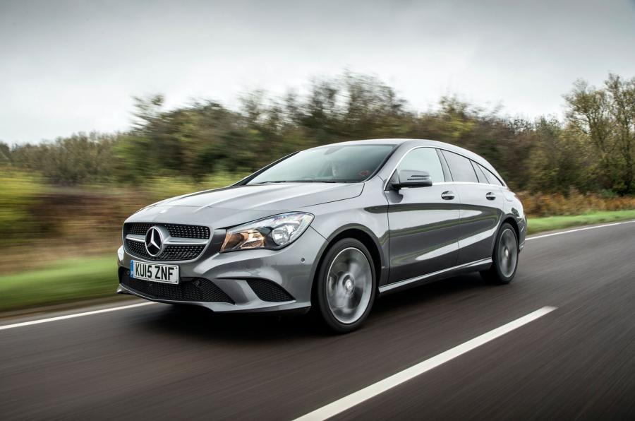 mercedes cla shooting brake front