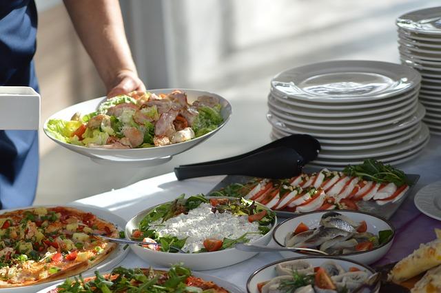 Restaurant selskab brunch buffet
